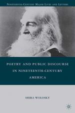 Poetry and public discourse in nineteenth-century America
